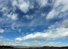 在科罗拉多天空的云彩 免版税库存照片