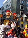 在科隆香水的狂欢节 免版税库存照片