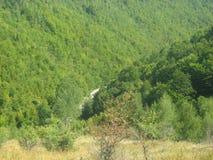 在科鲁Napoca,罗马尼亚附近的未知的地点 免版税图库摄影