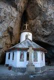 在秒-建造的Ialomita修道院 xvi 库存照片
