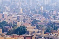 在穆斯林兄弟的革命的以后开罗 免版税库存照片