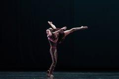 在空古典芭蕾` Austen汇集` 免版税库存图片