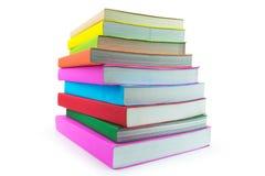在空白背景查出的书 免版税库存照片