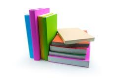 在空白背景查出的书 免版税库存图片