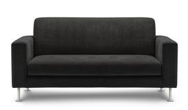 在空白背景查出的沙发家具 免版税图库摄影