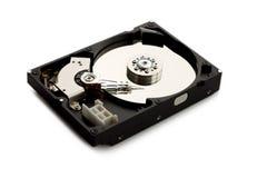 在空白背景查出的硬盘驱动器 免版税库存照片