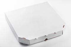 在空白背景查出的薄饼配件箱 图库摄影
