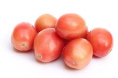 在空白背景的蕃茄 免版税库存图片