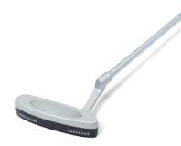 在空白背景的高尔夫俱乐部 免版税库存图片