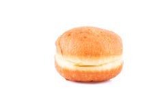 在空白背景的经典多福饼 库存图片