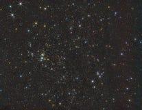 在空间开放无边无际的空间的星  图库摄影