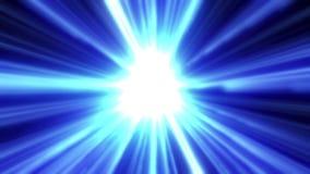 在空间的抽象能量隧道 向量例证