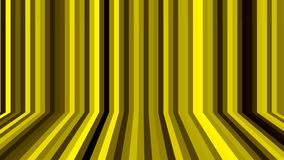 在空间的许多不同的线-与墙壁和地板幻觉,计算机生成的背景,3D的抽象回报 库存例证