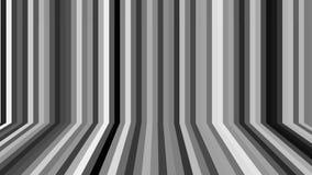 在空间的许多不同的线-与墙壁和地板幻觉,计算机生成的背景,3D的抽象回报 皇族释放例证