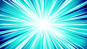 在空间的Starburst光芒 动画片射线圈动画 将来的技术概念背景 与线的爆炸星 影视素材