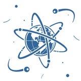 在空间的标志行星 图库摄影