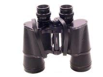 在突出的双筒望远镜空白 免版税库存图片