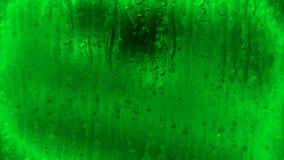 在窗口,格栅,冰的水滴 股票视频