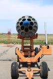 在立场的空投炸弹 图库摄影