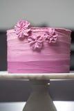 在立场的蛋糕 图库摄影