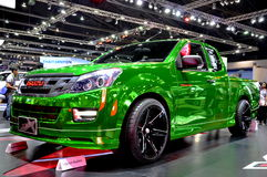 2015年在第36个曼谷国际汽车展示会的五十铃D最大X系列 免版税库存图片