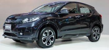 在第36个曼谷国际汽车展示会的新的本田HR-V 免版税库存照片