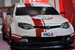 在第35个曼谷国际汽车展示会的MG6涡轮2014年 免版税库存图片