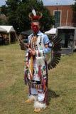 在第40只每年雷鸟美洲印第安人议事会期间的未认出的美国本地人 免版税图库摄影