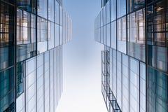 在第10条街道上的现代大厦在华盛顿特区, 库存图片