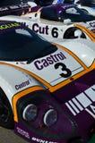 在第72 GRRC成员见面的经典赛车的 免版税库存图片