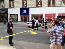 在第34条街道的纽约射击 免版税库存照片