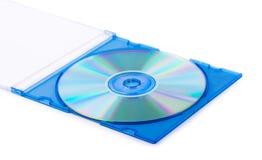 在箱子的CD 库存照片