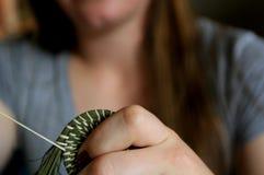 在篮子编织法的冒险 免版税库存图片