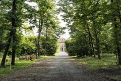 在米兰& x28附近的别墅Arconati; Italy& x29; 库存照片