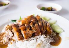在米的烤鸭 免版税库存图片