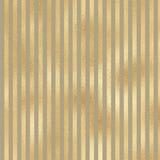 在米黄背景的金条纹 免版税库存图片