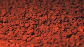 在粒子的速溶咖啡 库存图片