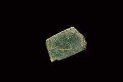 在粗砺的绿宝石 免版税库存图片