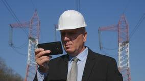 在精力充沛的产业文本的能量工作使用在维护活动的机动性 免版税图库摄影