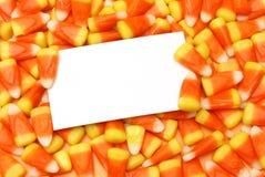 在糖果的消息 免版税库存图片