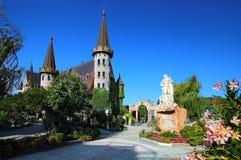 在索佐波尔附近的Ravadinovo城堡 免版税图库摄影