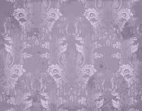在紫罗兰色颜色的传染媒介豪华巴洛克式的样式 复杂设计装饰品 图库摄影