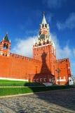 在红场的钟楼在莫斯科俄罗斯 库存照片