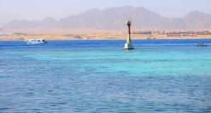 在红海的远航 埃及 免版税库存照片