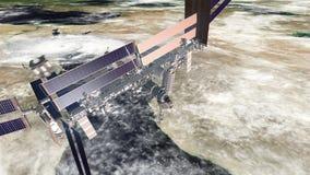 在红海的ISS 影视素材