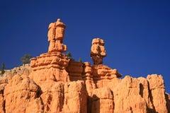在红色峡谷犹他,犹他的不祥之物 图库摄影