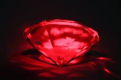 在红色的宝石 库存照片
