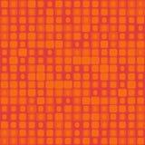 在红色的无缝的纹理与正方形 库存例证