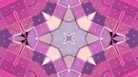 在红色紫色梯度颜色的抽象简单的3D背景,作为现代几何背景的低多样式或 皇族释放例证