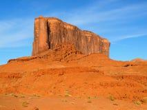在纪念碑谷的大象小山 免版税库存照片
